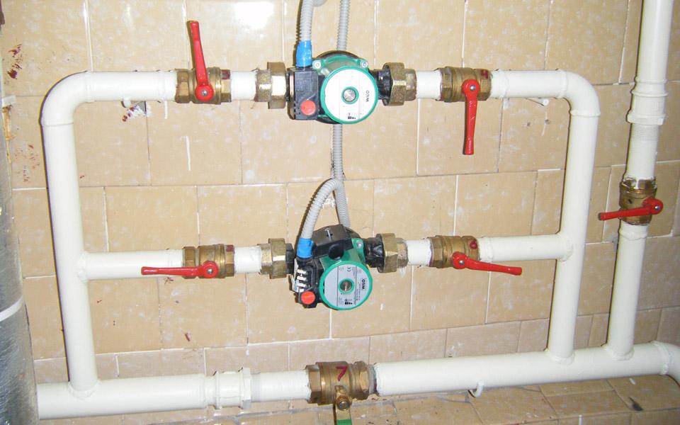 Строительство систем отопления
